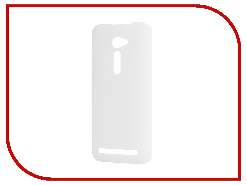 Аксессуар Чехол ASUS ZenFone 2 ZE500CL SkinBox 4People White T-S-AZ25-002