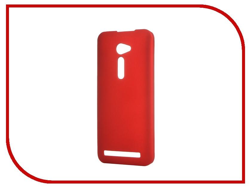��������� ����� ASUS ZenFone 2 ZE500CL SkinBox 4People Red T-S-AZ25-002