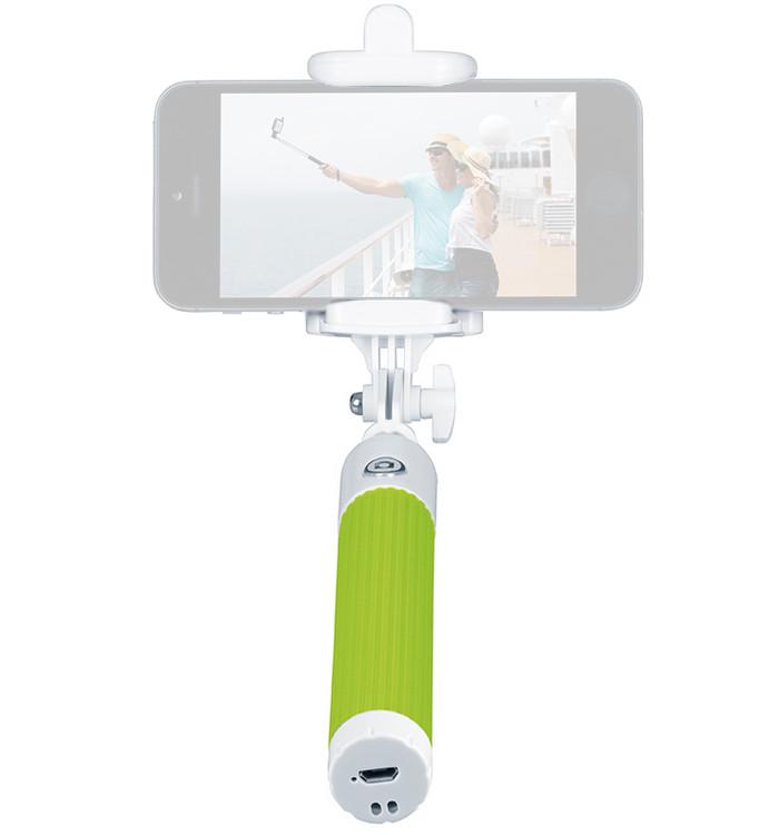 Штатив InterStep Bluetooth MP-115B Green