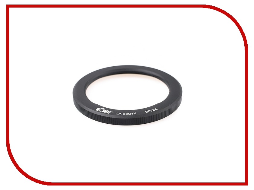 Переходное кольцо JJC RN-DC58C for Canon PS-G1X<br>