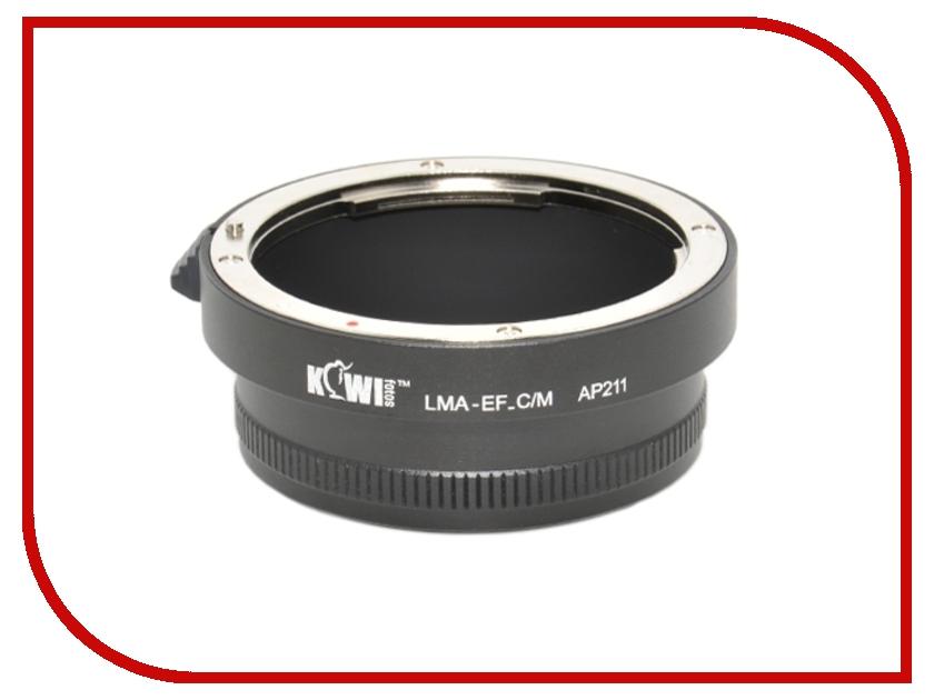 Переходное кольцо JJC KIWIFOTOS LMA-EF_C/M for Canon EF - Canon EF-M
