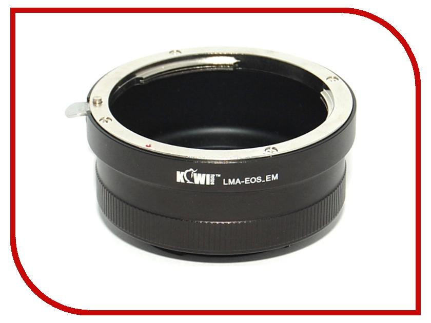 Переходное кольцо JJC KIWIFOTOS LMA-EOS_EM for Canon EF - Sony E-Mount NEX<br>