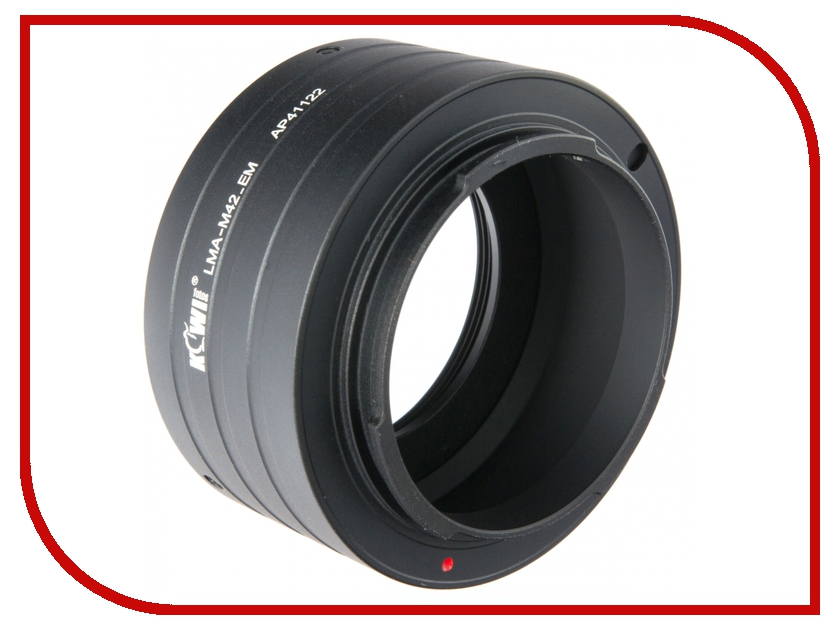 Переходное кольцо JJC KIWIFOTOS LMA-M42_EM for M42 - Sony E-Mount NEX<br>