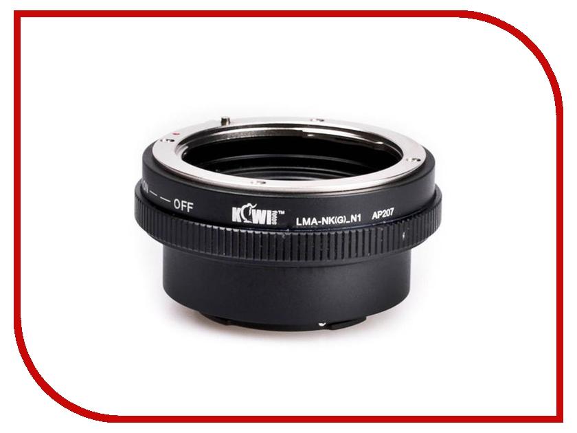 Переходное кольцо JJC KIWIFOTOS LMA-NK(G)_N1 for Nikon G - Nikon 1<br>
