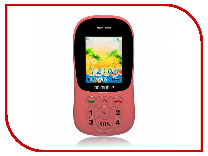 Сотовый телефон BB-mobile GPS Маячок II Pink<br>