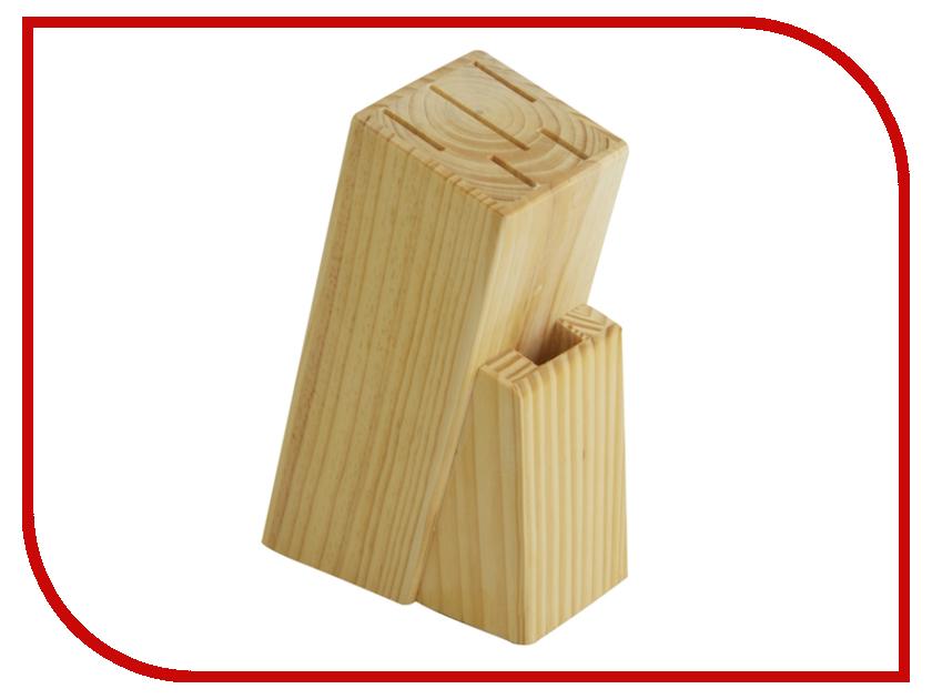Аксессуар Regent Inox Block Подставка для ножей 93-WB2-5S regent inox банка для сыпучих продуктов regent inox 93 de ca 01 1200 серый