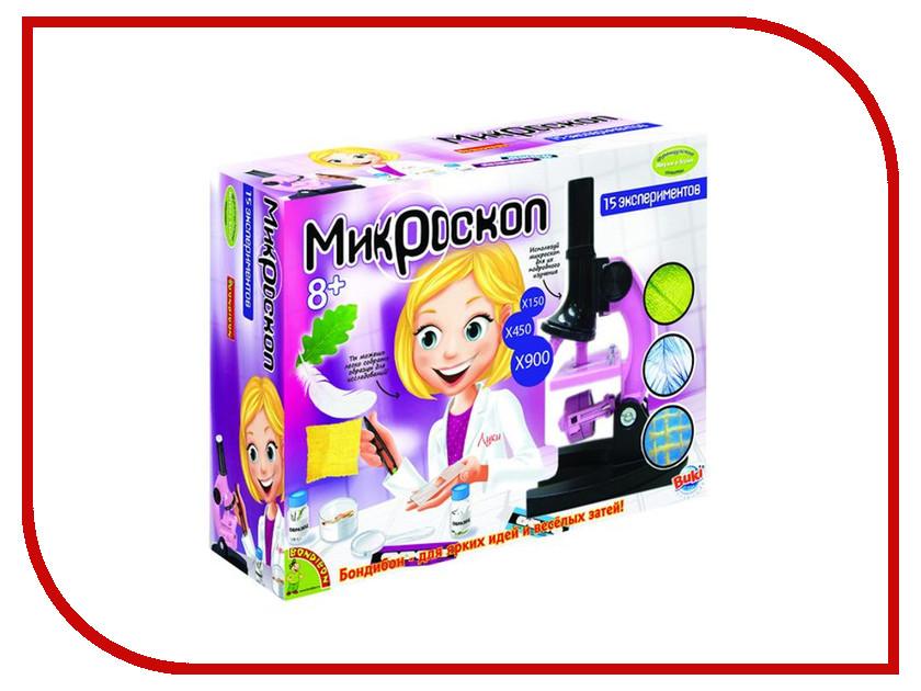 Игра Bondibon Науки с Буки Микроскоп BB1214 игра bondibon детектор лжи вв2110