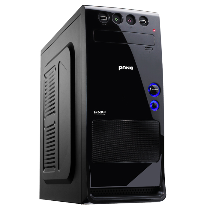 Корпус GMC Pang w/o PSU Black