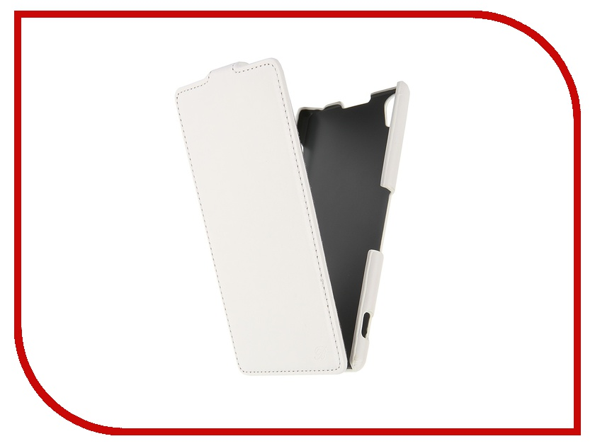 Аксессуар Чехол-флип Sony Xperia Z3 Brera Slim White 48294<br>