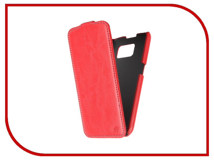 Аксессуар Чехол-флип Samsung Galaxy S6 SM-G920 Brera Slim Red 47544<br>