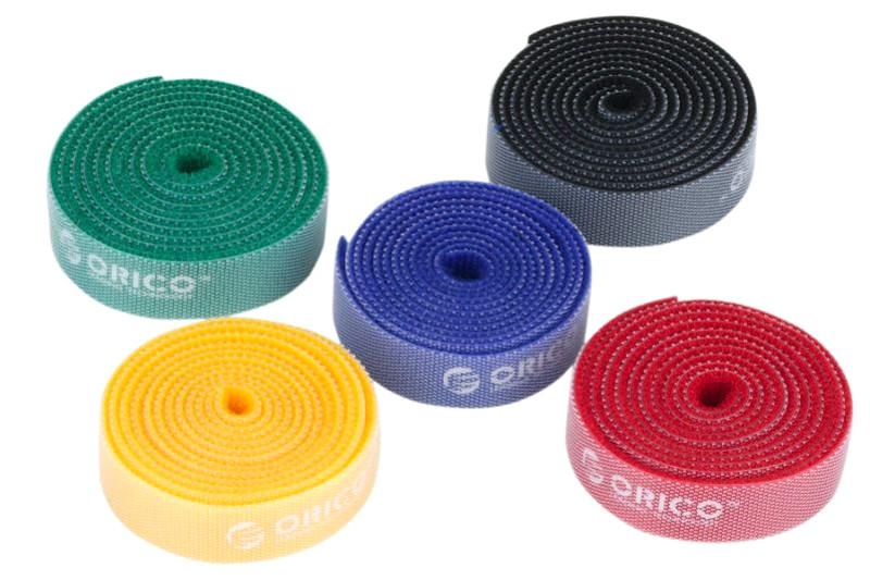 Стяжки Orico CBT-5S-MC для кабелей (5шт)