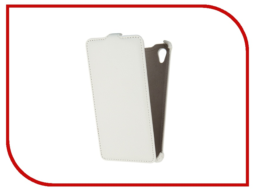 ��������� �����-���� Sony Xperia M4 Aqua Activ Leather White 47666