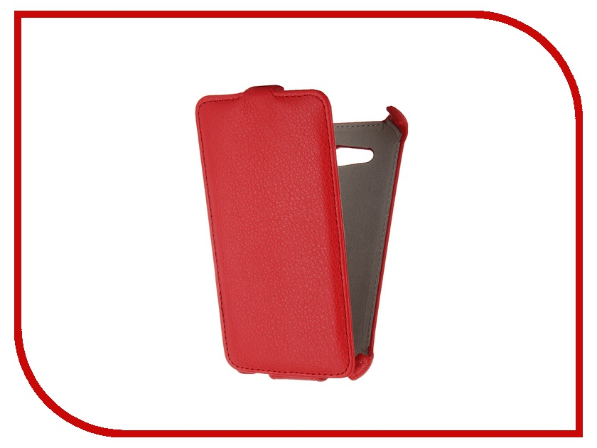 Аксессуар Чехол-флип Sony Xperia E4G Activ Leather Red 47660<br>