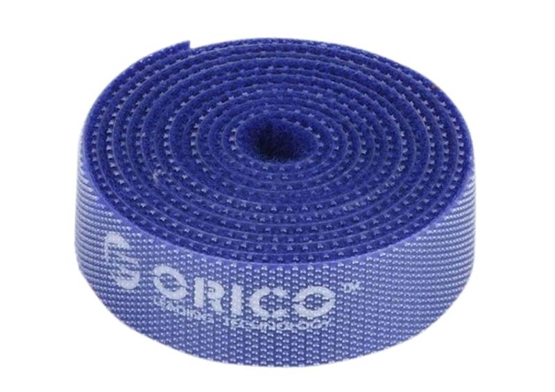 Аксессуар Orico CBT-1S-BL Blue стяжка для кабелей