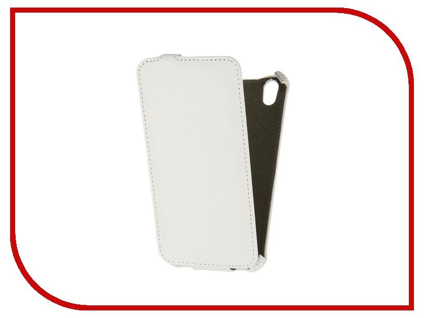Аксессуар Чехол-флип Philips i908 Activ Leather White 43786<br>