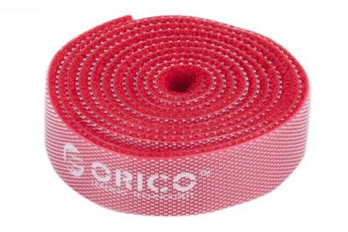 Аксессуар Orico CBT-1S-RD Red стяжка для кабелей