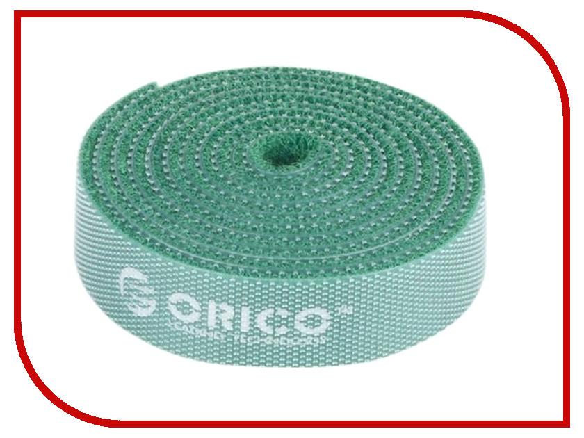 Аксессуар Стяжка Orico CBT-1S-GR Green для кабелей<br>