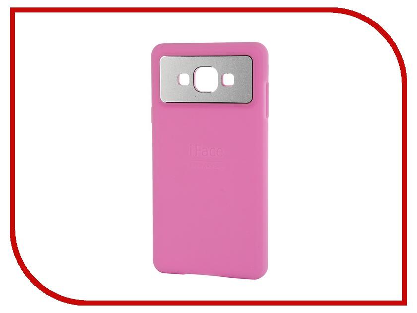 Аксессуар Чехол-накладка Samsung Galaxy A7 SM-A700 iFace Silicone Rose 49256