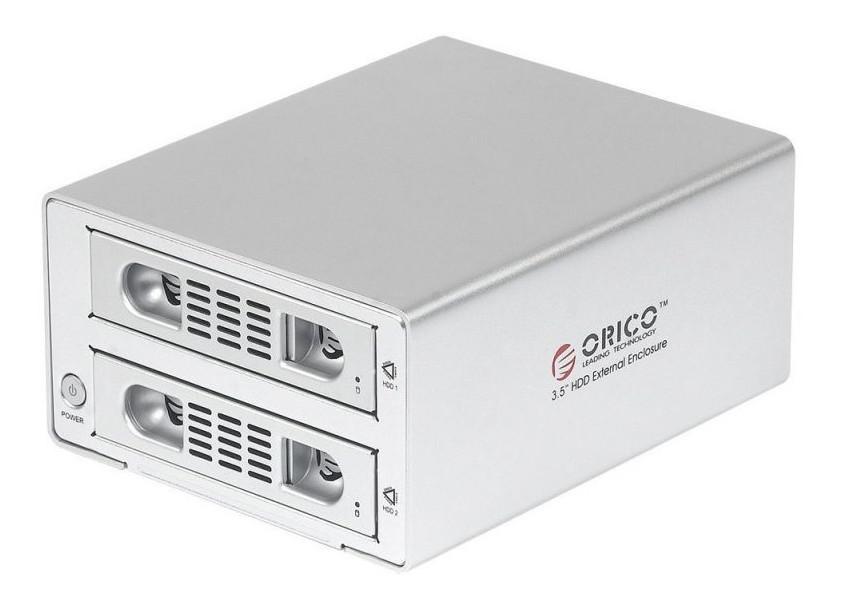 Аксессуар Контейнер для HDD Orico 3529RUS3-SV Silver