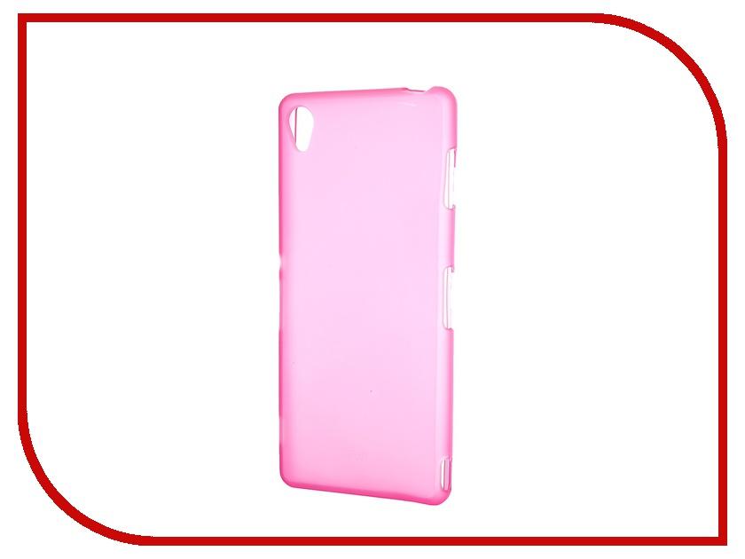 Аксессуар Чехол-накладка Activ for Sony Xperia Z3 силиконовый Rose Mat 46769<br>