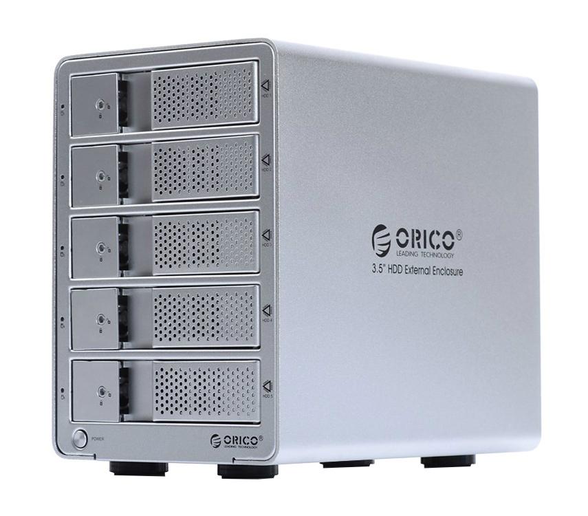 Аксессуар Контейнер для HDD Orico 9558U3-SV Silver