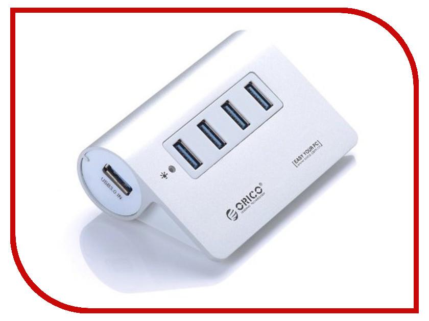 Хаб USB Orico M3H4-SV 4-Ports Silver<br>