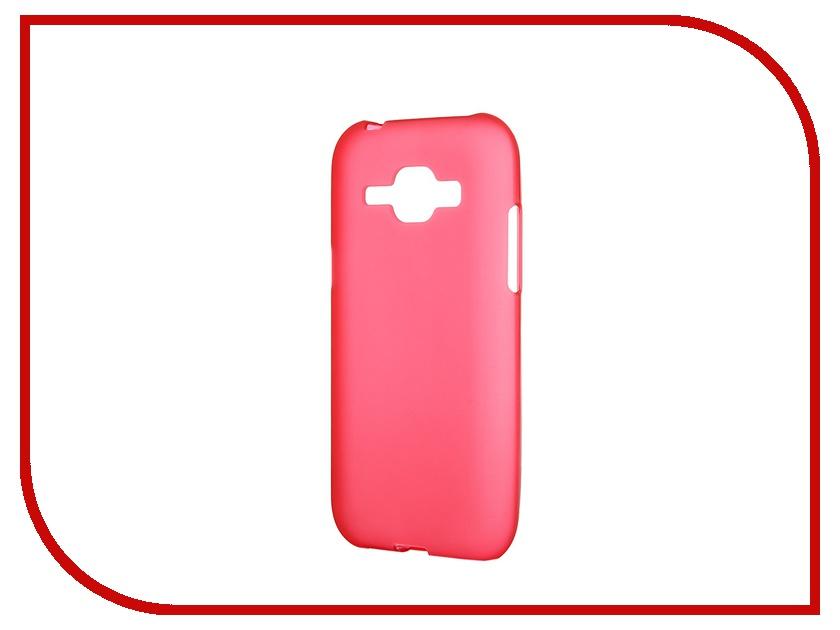 Аксессуар Чехол-накладка Samsung Galaxy SM-J100 J1 Activ Silicone Red Mat 46708<br>