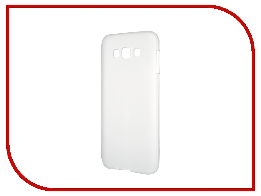 Аксессуар Чехол-накладка Samsung Galaxy SM-E700 E7 Activ Silicone White Mat 46705 mooncase splice color leather wallet flip card slot bracket back чехол для sony xperia e4 black01