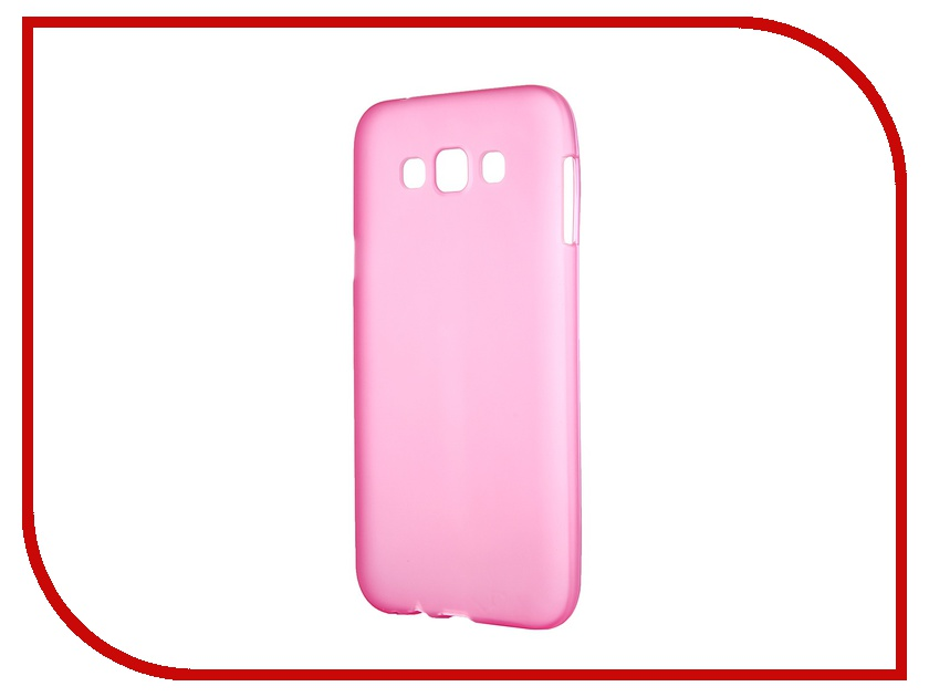 Аксессуар Чехол-накладка Samsung Galaxy SM-E700 E7 Activ Silicone Rose Mat 46704 аксессуар чехол накладка samsung galaxy sm a700 a7 activ silicone black mat 46687