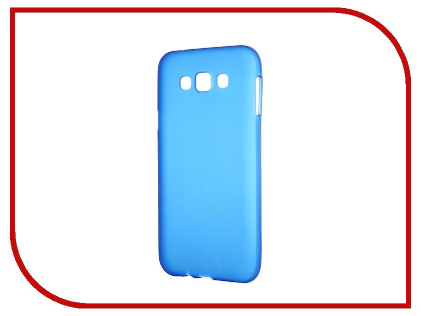 Аксессуар Чехол-накладка Samsung Galaxy SM-E700 E7 Activ Silicone Blue Mat 46701