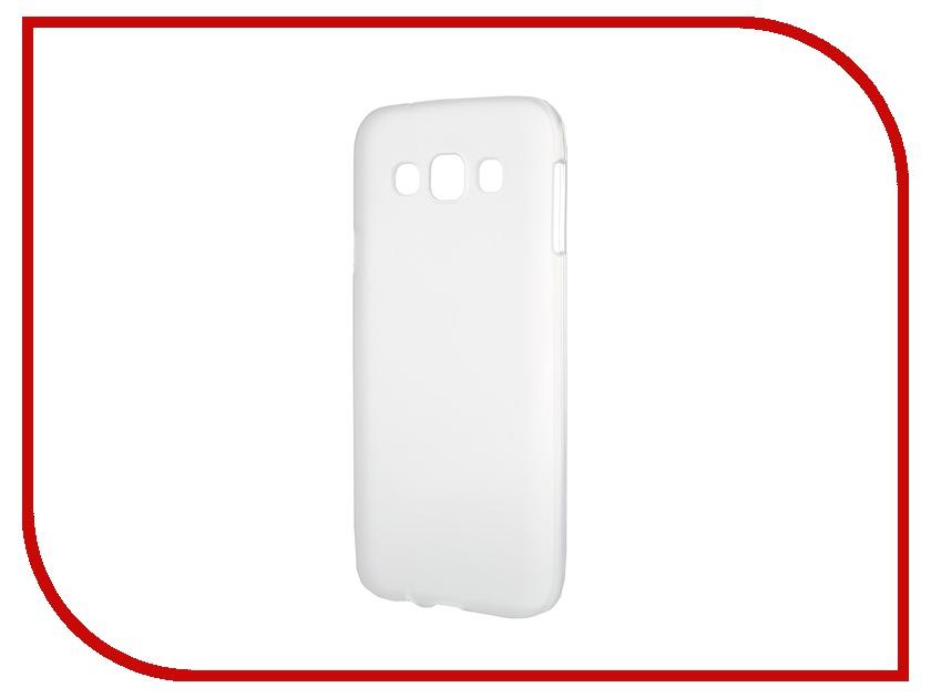 Аксессуар Чехол-накладка Samsung Galaxy SM-E500 E5 Activ Silicone White Mat 46700