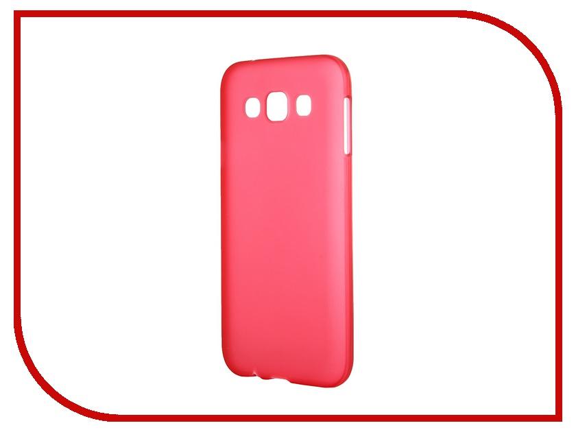 Аксессуар Чехол-накладка Samsung Galaxy SM-E500 E5 Activ Silicone Red Mat 46698 аксессуар чехол накладка samsung galaxy note 5 melkco transparent mat 8165