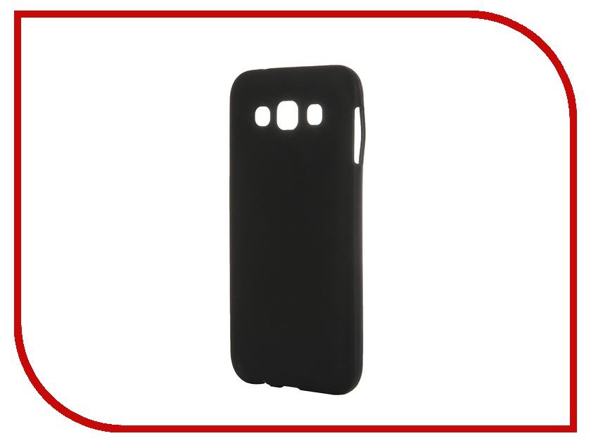 Аксессуар Чехол-накладка Samsung Galaxy SM-E500 E5 Activ Silicone Black Mat 46683<br>