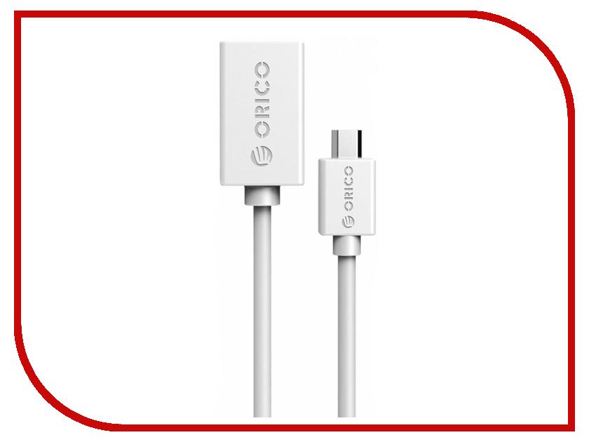 Аксессуар Orico USB (F) to Micro-USB (M) COR2-15-WH White
