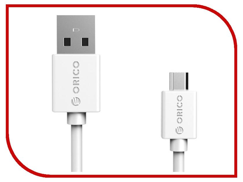 Аксессуар Orico USB (M) to Micro-USB (M) CMR2-10-WH White<br>