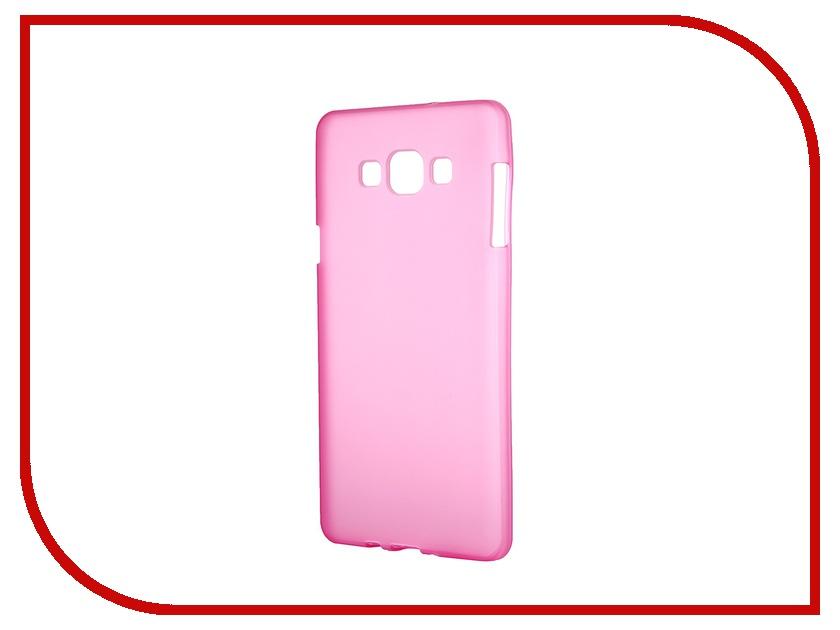 Аксессуар Чехол-накладка Samsung Galaxy SM-A700 A7 Activ Silicone Rose Mat 46694