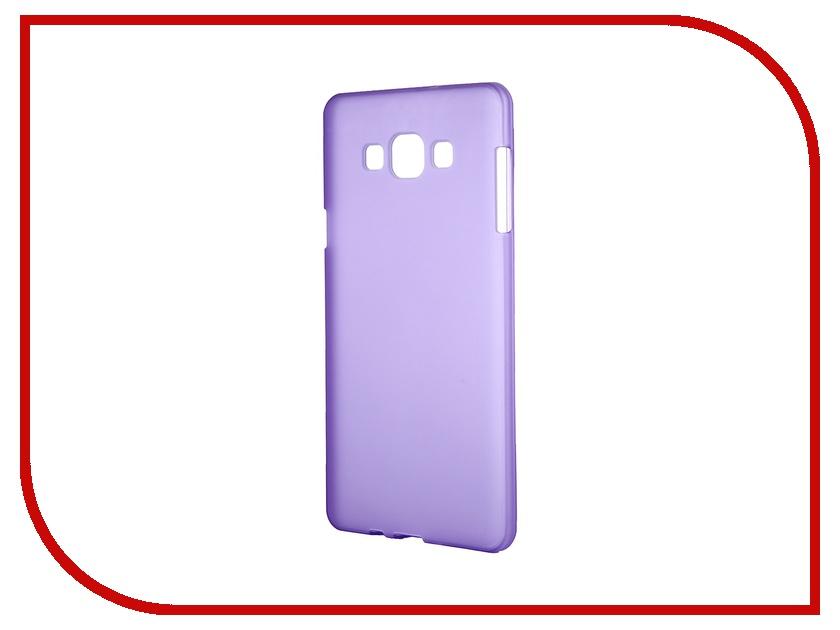 Аксессуар Чехол-накладка Samsung Galaxy SM-A700 A7 Activ Silicone Purple Mat 46692<br>
