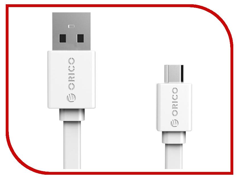 Аксессуар Orico USB (M) to Micro-USB (M) CMF2-10-WH White<br>