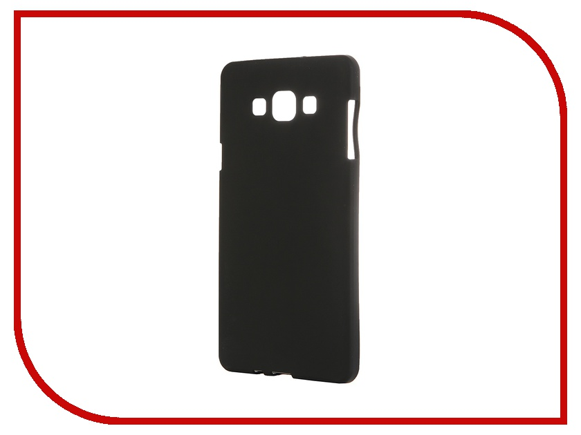 Аксессуар Чехол-накладка Samsung Galaxy SM-A700 A7 Activ Silicone Black Mat 46687