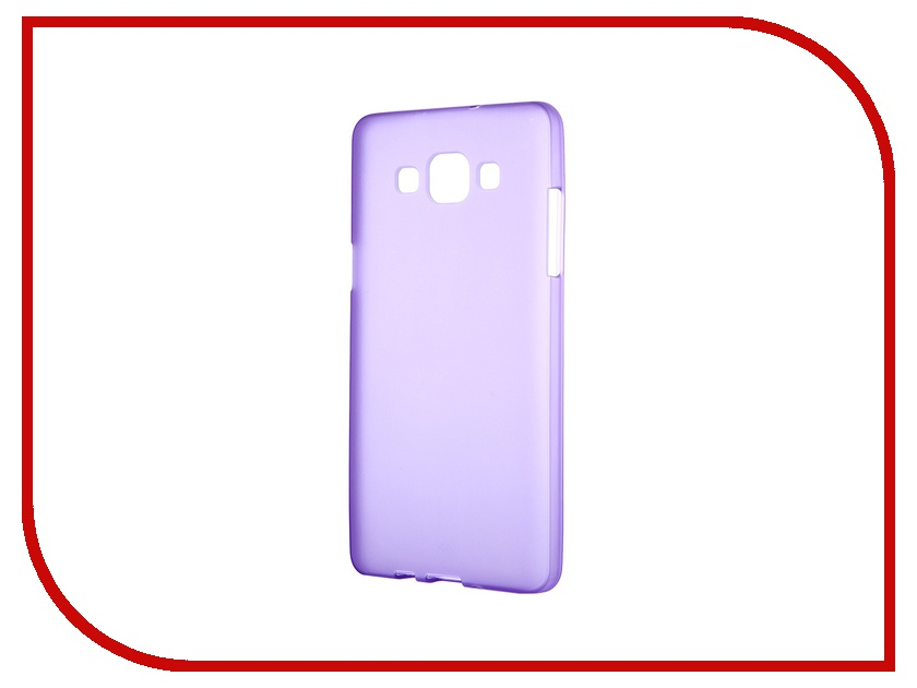 ��������� �����-�������� Samsung Galaxy SM-A500 A5 Activ ����������� Purple Mat 46747