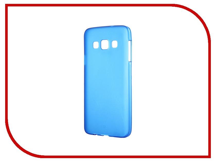 Аксессуар Чехол-накладка Samsung Galaxy SM-A300 A3 Activ Silicone Blue Mat 46744<br>
