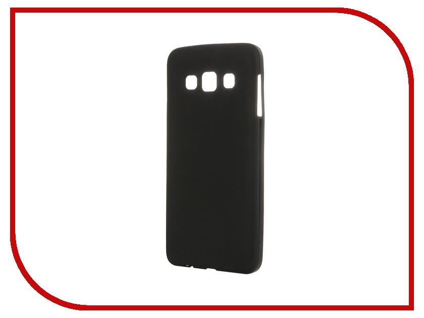 Аксессуар Чехол-накладка Samsung Galaxy SM-A300 A3 Activ Silicone Black Mat 45808<br>