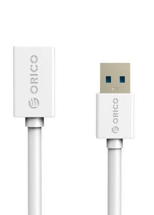 Аксессуар Orico USB (M) to USB (F) CER3-15-WH White<br>