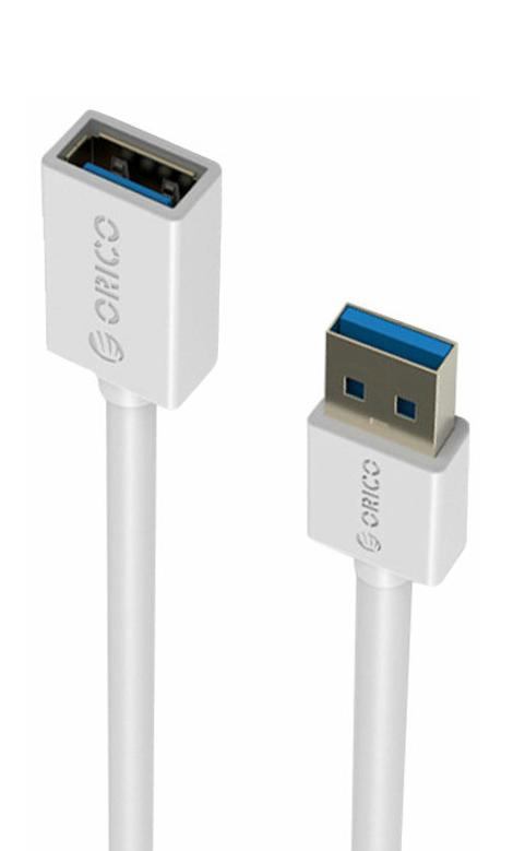 Аксессуар Orico USB (M) to USB (F) CER3-10-WH White