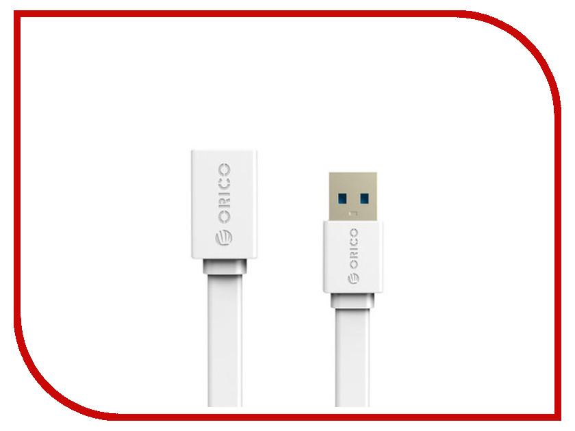 Аксессуар Orico USB (M) to USB (F) CEF3-10-WH White<br>