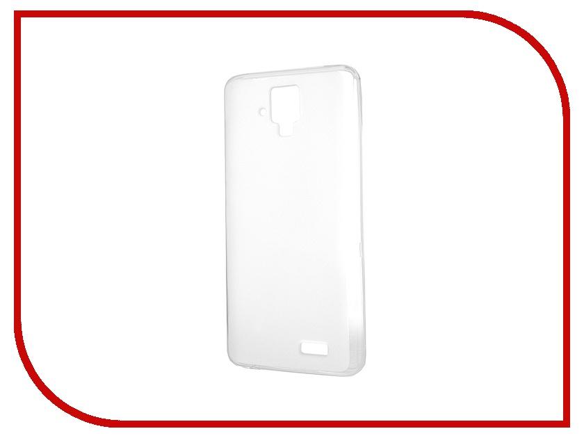 Аксессуар Чехол-накладка Lenovo A536 Activ Silicone White Mat 44240