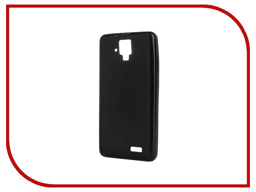 Аксессуар Чехол-накладка Lenovo A536 Activ Silicone Black Mat 44128