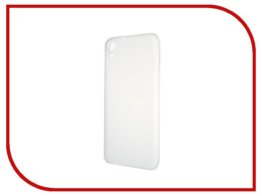 Аксессуар Чехол-накладка HTC Desire 820 Activ Silicone White Mat 46650<br>