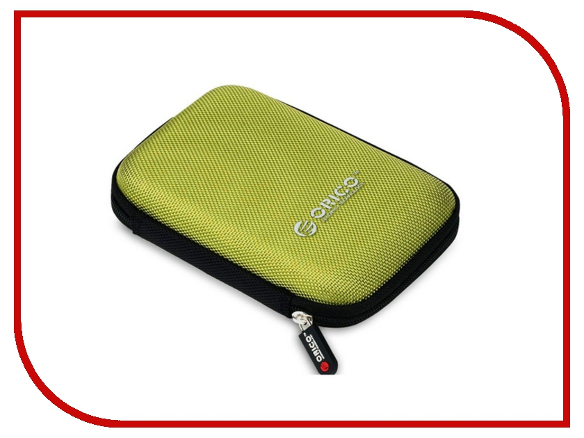 Аксессуар Чехол Orico PHD-25-GR Green orico phd 25 black чехол для жесткого диска