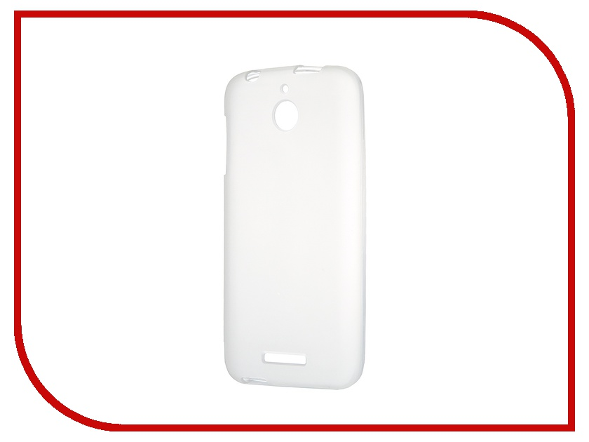Аксессуар Чехол-накладка HTC Desire 510 Activ Silicone White Mat 44207 аксессуар чехол накладка htc desire 516 activ silicone red mat 45818